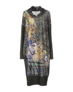 Платье до колена CALALUNA. Цвет: синий
