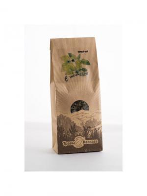 Чай черный с мелиссой Травы Кавказа. Цвет: бежевый