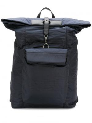 Рюкзак с большим карманом Mismo. Цвет: синий