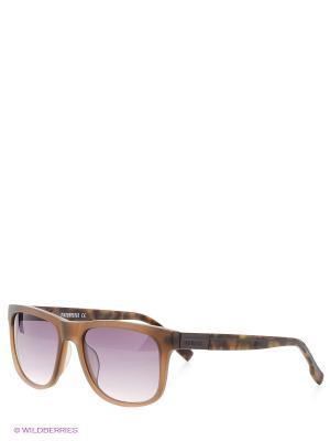Солнцезащитные очки Bikkembergs. Цвет: серый, коричневый