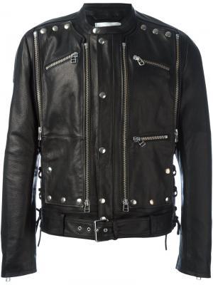 Куртка с заклепками Faith Connexion. Цвет: чёрный