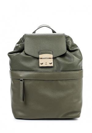 Рюкзак Furla. Цвет: зеленый