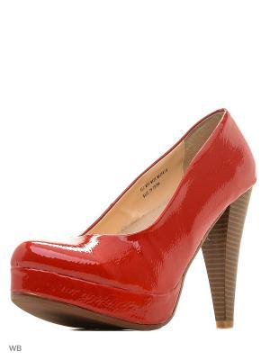 Туфли Carla Verotti. Цвет: красный