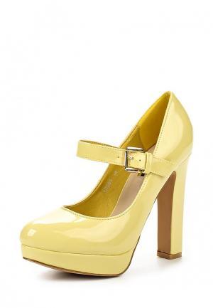 Туфли Mellisa. Цвет: желтый