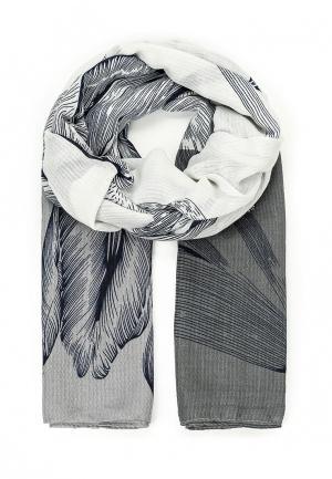 Палантин Модные истории. Цвет: серый