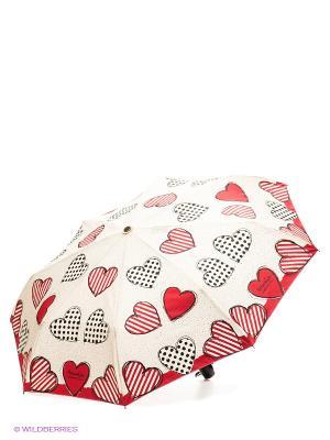 Зонт MOSCHINO. Цвет: молочный