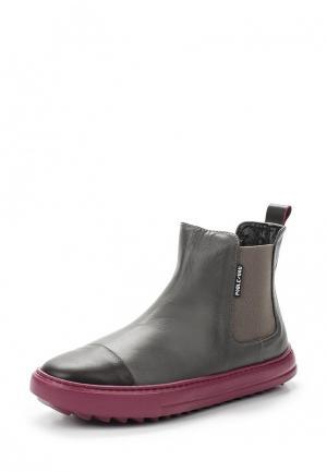Ботинки Poblenou. Цвет: серый