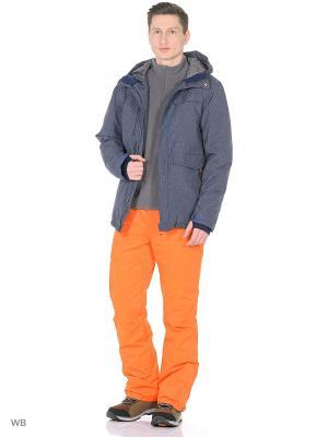 Куртка Guahoo. Цвет: темно-синий