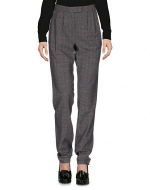 Повседневные брюки E-GÓ. Цвет: серый