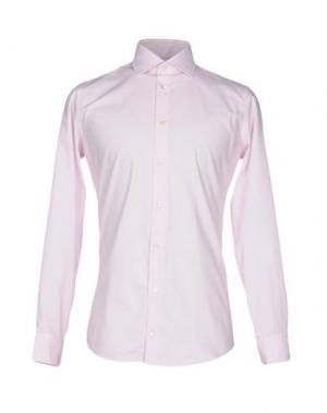 Pубашка RICHARD JAMES. Цвет: светло-розовый