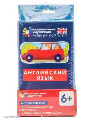 Английский язык. Комплект из 6 наборов карточек с картинками АЙРИС-пресс. Цвет: красный, зеленый, синий