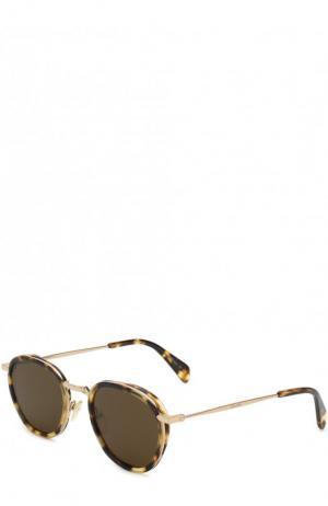 Солнцезащитные очки Céline Eyewear. Цвет: коричневый
