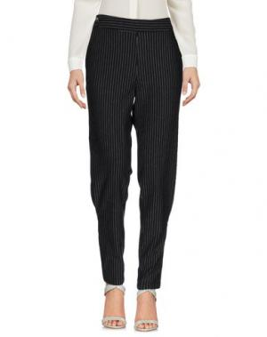 Повседневные брюки THAKOON ADDITION. Цвет: стальной серый