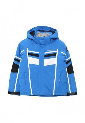 Куртка горнолыжная Icepeak. Цвет: синий