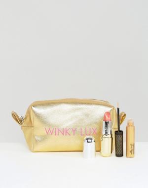 Winky Lux Набор для вечернего макияжа глаз и губ. Цвет: мульти