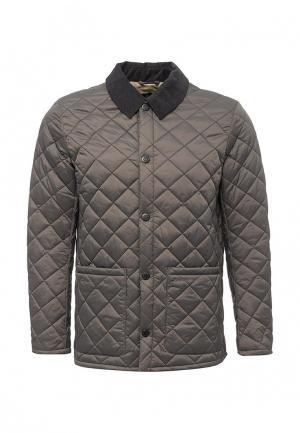 Куртка утепленная Barbour. Цвет: серый