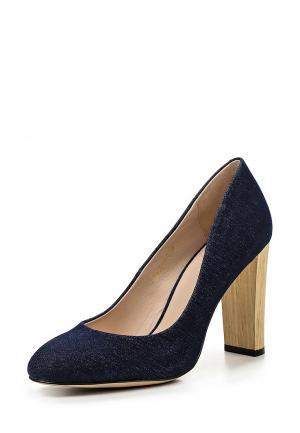 Туфли Covani. Цвет: синий