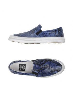 Низкие кеды и кроссовки O.X.S.. Цвет: темно-фиолетовый