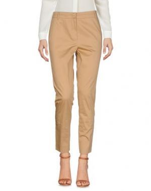 Повседневные брюки MARELLA. Цвет: верблюжий
