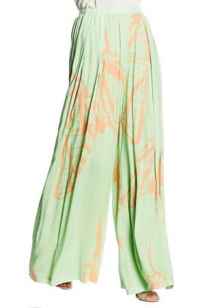 PANTS Isabel Garcia. Цвет: green and beige