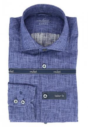 Рубашка VAN LAACK. Цвет: синий