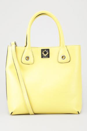 Сумка Arcadia. Цвет: желтый