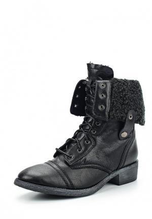 Ботинки Sinly. Цвет: черный