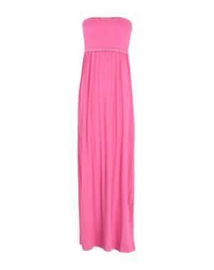 Длинное платье VERDISSIMA. Цвет: розовый