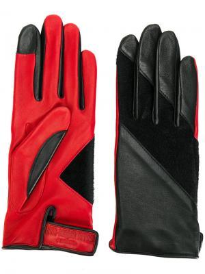 Перчатки Tetsuo Agnelle. Цвет: чёрный