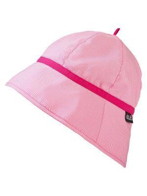 Панама SUPPLEX SUN HAT GIRLS Jack Wolfskin. Цвет: розовый