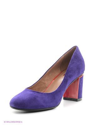 Туфли MILANA. Цвет: фиолетовый