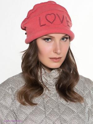Шляпа SEEBERGER. Цвет: светло-коралловый
