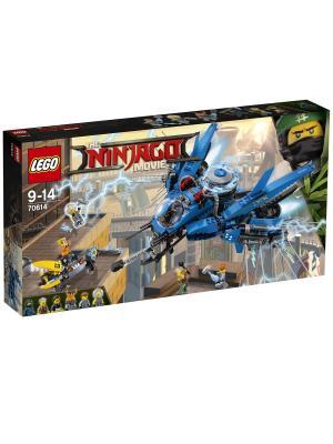 Ninjago Самолёт-молния Джея 70614 LEGO. Цвет: синий