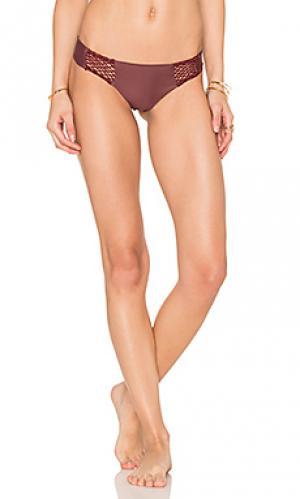 Низ бикини poppy Acacia Swimwear. Цвет: красный