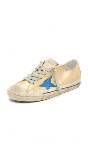 Кроссовки V Star 2 Golden Goose. Цвет: коричневый