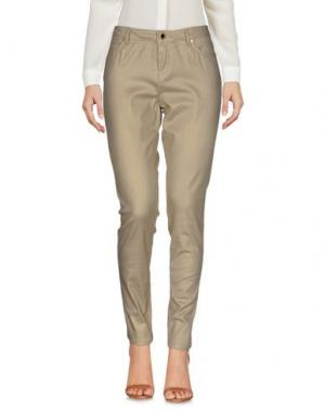 Повседневные брюки MORGAN DE TOI. Цвет: песочный