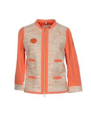 Куртка GEOSPIRIT. Цвет: коралловый