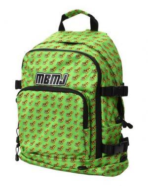 Рюкзаки и сумки на пояс MARC BY JACOBS. Цвет: кислотно-зеленый