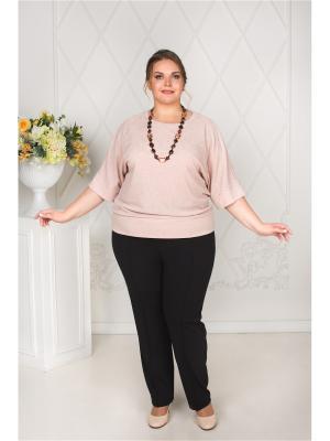 Кофточка Darissa Fashion. Цвет: бледно-розовый