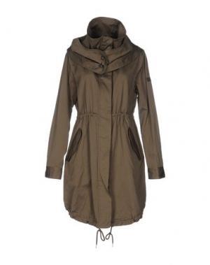 Легкое пальто TATRAS. Цвет: зеленый-милитари