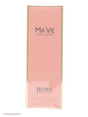 Парфюмированная вода, 50 мл HUGO BOSS. Цвет: бледно-розовый