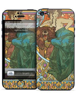 Виниловая наклейка для iPhone 5 Gelaskins. Цвет: зеленый, коричневый, оранжевый