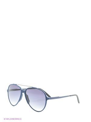 Солнцезащитные очки CARRERA. Цвет: синий, фиолетовый