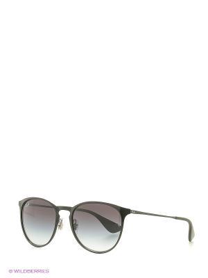 Солнцезащитные очки Ray Ban. Цвет: антрацитовый