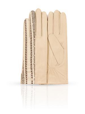 Перчатки Dali Exclusive. Цвет: кремовый, бежевый