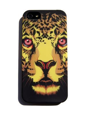 Чехол для iPhone 5/5s Lola. Цвет: желтый, черный