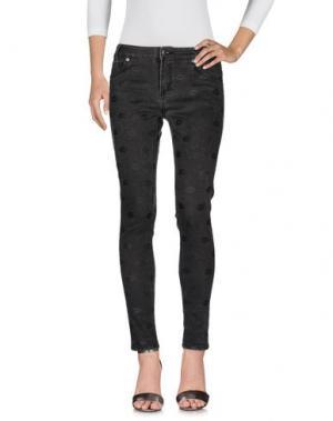 Джинсовые брюки AMERICAN RETRO. Цвет: черный