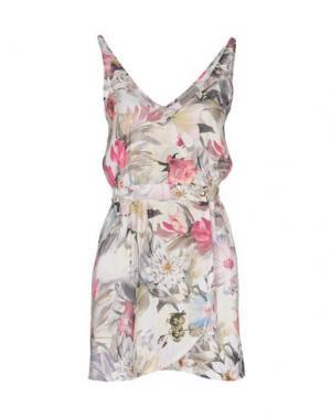 Короткое платье HEIMSTONE. Цвет: светло-зеленый