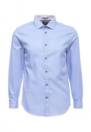 Рубашка Burton Menswear London. Цвет: голубой
