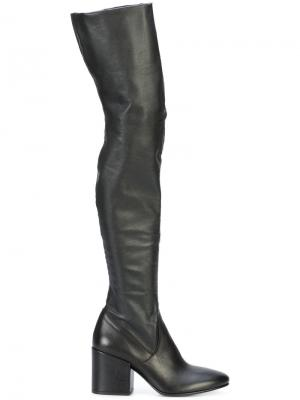 Thigh-high boots Chuckies New York. Цвет: чёрный